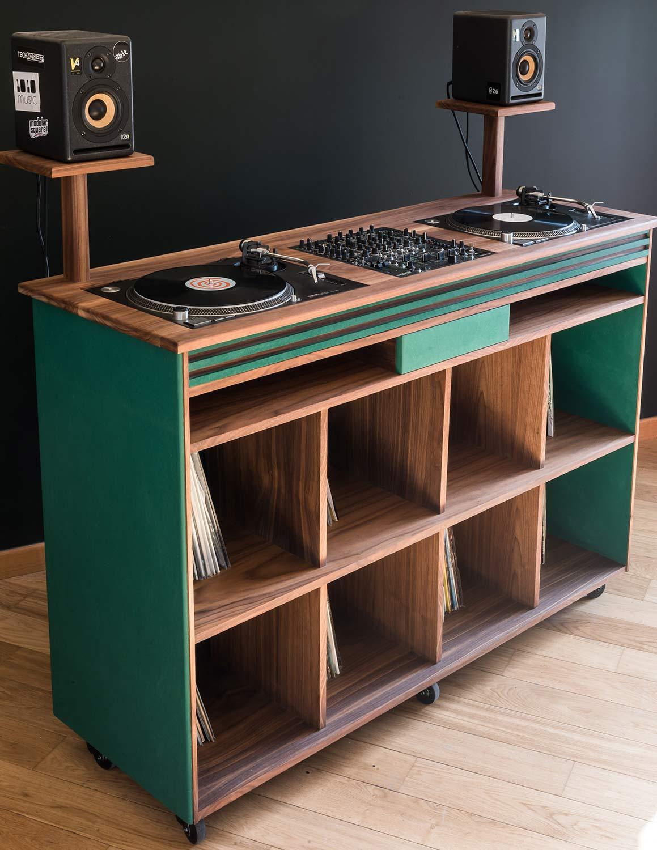 Meuble dj sur mesure meuble pour table de mixage - Meuble pour table de mixage ...